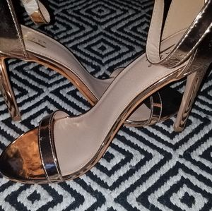☆Rose Gold heel sandals☆
